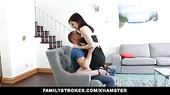 FamilyStrokes - Slutty Sister Seduces Bro With Lapdance