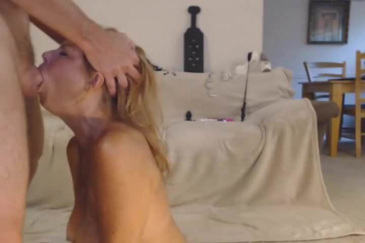 Blonde Bedroom Suck Fuck
