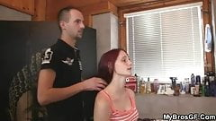 Stupid GF goes cheating with his brother