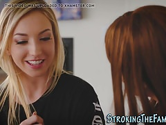 Teen tribs with stepmom