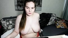 chubby busty shy russian cam-slut