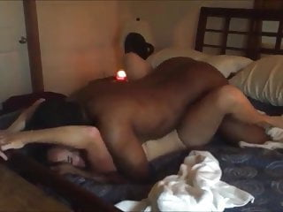 Hubby gets hard watching his wife plowed by BBC