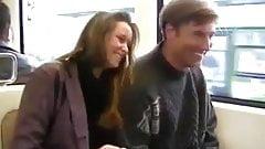 Blowjob in public places