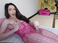 Pretty in pink joy of orgasm