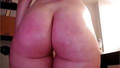 Lovely Big Round Butt Cheeks