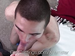 GayCastings First fuck on film with casting agent
