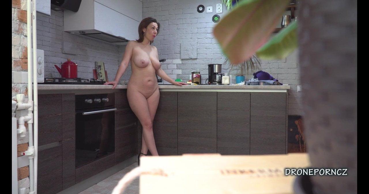 Free download & watch czech milf gadget hidden spy cam in the kitchen          porn movies