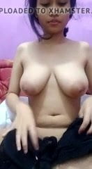 Scorching asian tudung, hijab, jilbab slut taking part in herself 2