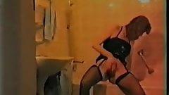 Housewife fucks in bathroom