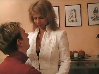 German Teacher With Big Tits Gets Fucked By Her Student