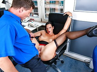 Bums Buero Hot Secretary In Lingerie Office Pounding