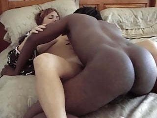 Sexy white slut gets fucked deep by BBC while hubby tapes