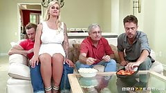 Brazzers - My stepmom bought me a stripper