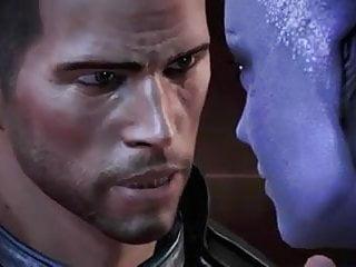 Mass Effect  All Romance Sex Scenes Male Shepard