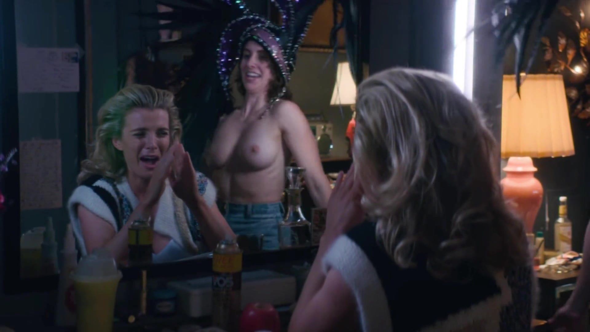 Alison Brie Naked Pics alison brie. betty gilpin - ''glow'' s3, s2