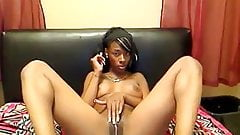Ella Strips Naked on Cam
