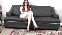 Hot Teen Brees Kelly Shows Off Soft Feet at FuckedFeet!