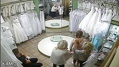 spy camera in the salon of wedding dresses 10 sorry no sound