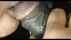 Srilankan girl sucking boss dick