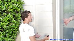Athletic handyman assfucked balls deep