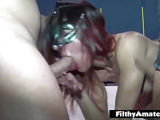 Two nymphos in the private club! Anal and squirt!