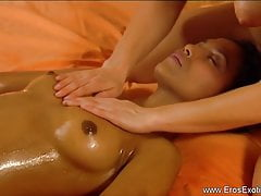 Lesbian Lover Massage All the Way