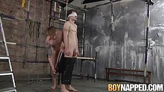 Young dom Tyler Underwood has a treat for twink Kamyk Walker