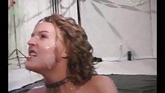 She enjoying her cumbath