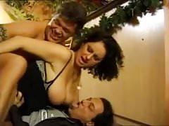 big tits brunette dp
