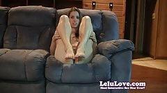 Lelu Love-Foot Slut Jerkoff Encouragement