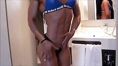 super sculpted muscular woman