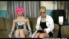 Sci Fi porno elokuvalaiha tumma musta pillua