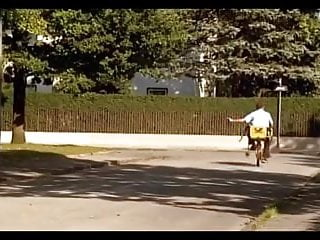 Orgasmus beim Rad fahren