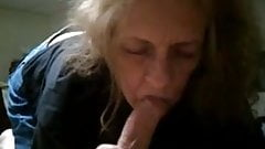 Grandma suck cock like crazy