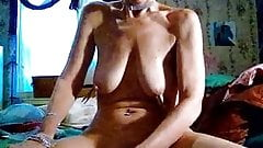 50 year old mature saggy tits