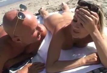 Beach gang bang xhamster