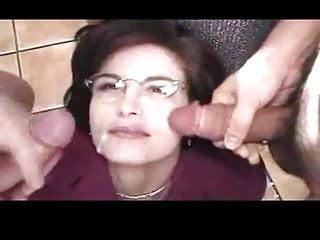 Bukkake For Businesswoman