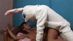 Veronica Vs nasty bunny