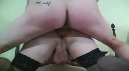 Wife coaches husband getting fucked in his ass