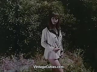 Movie nudes photo - Nude photo session of adorable teen 1960s vintage