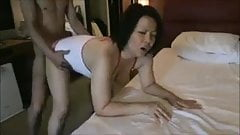 Japanese amateur milf crreampie
