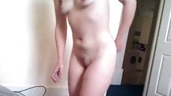 Bi Girl After Shower