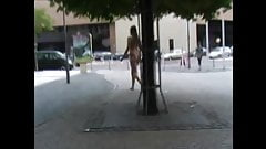 Butt Naked Public Walk