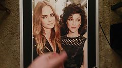 Righteous Cara Delevingne and Annie Clark Tribute