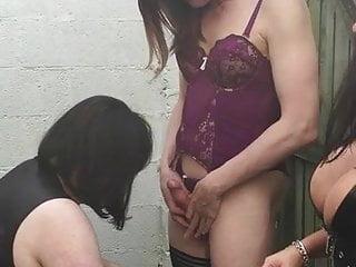 Sissy Slut Nina Spitroast