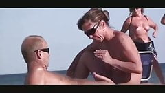 Nude Beach - Hot Couples - Hot Public Playing