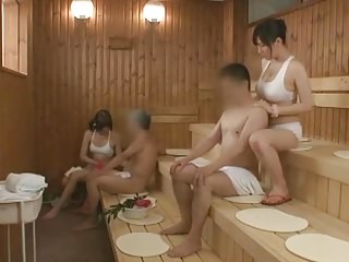 Azusa Nagasawa in Sauna Lady Occupation Part 2