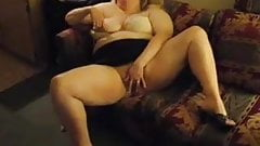 BBW Wife - Making herself cum