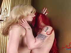 Emily Marilyn and Miss Conduct Lesbo Fun
