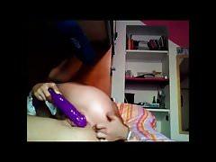 purple dildo